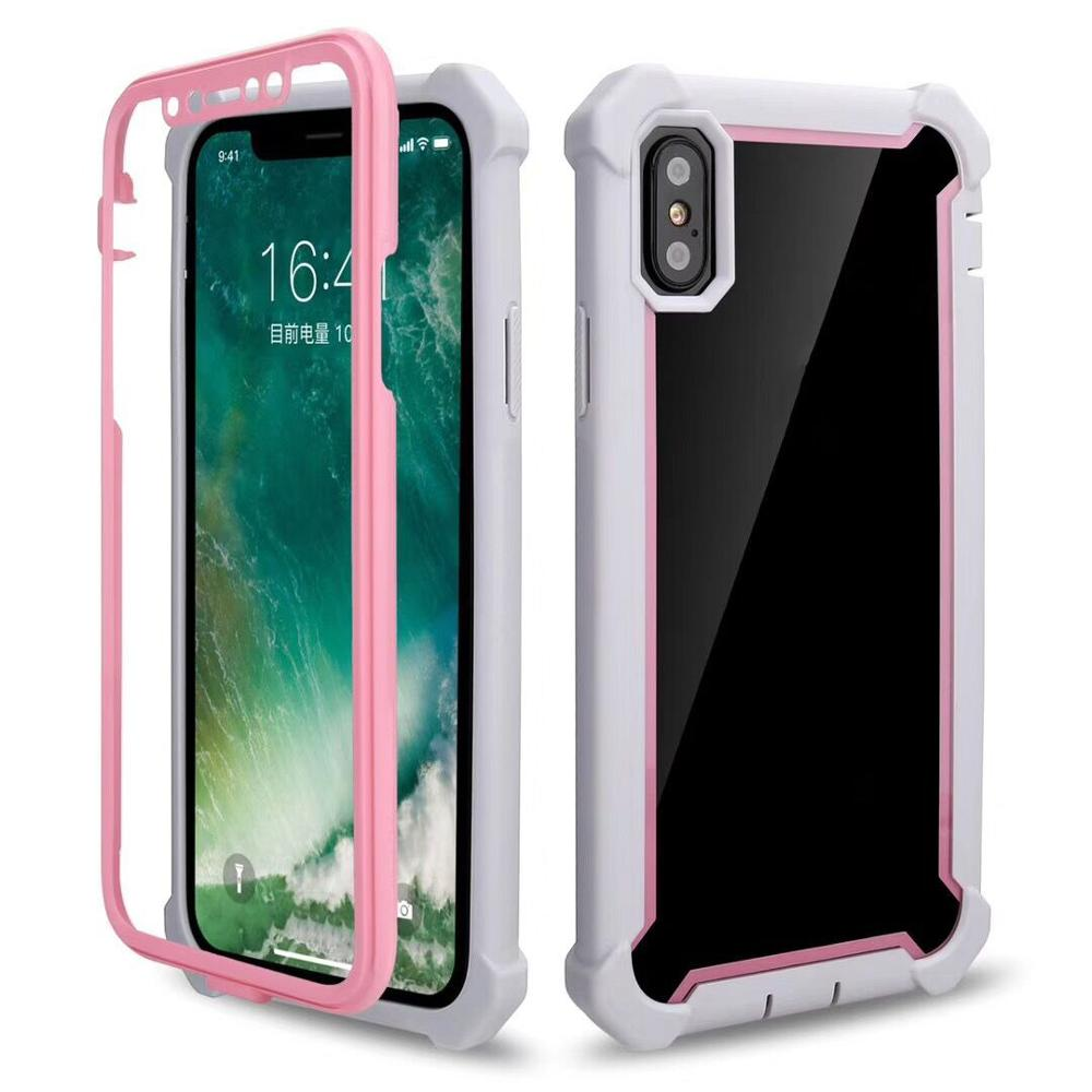 <strong>A014</strong> 2018 New Full Back Cover Shockproof Soft TPU Mobile Phone Case For Huawei Mate 20 lite y9 2019 360 Case
