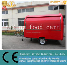 high quality mobile food trucks fruit carts for sale hamburgers carts