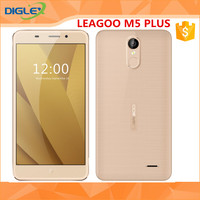 Original Leagoo M5 Plus Mobile Phone 5.5 inch 1280x720 Android 6.0 MT6737 Quad Core 2GB+16GB 2500mAh Fingerprint ID 4G Cellphone
