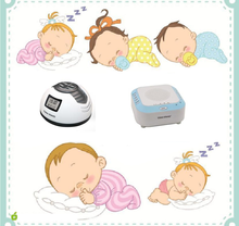Sleep therapy machine white noise player for sleeping
