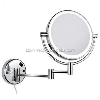 Hot Sale Decorative Double Side Led Wall Mounted Adjustable Bathroom Mirror With Light Buy Led