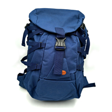 sports leisure bags blue color backpack for outdoor lighting sports hiking backpack