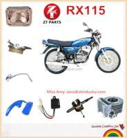 Hot Selling RX115 motorcycle parts for ITALIKA repuestos para motocicleta