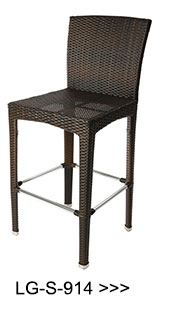 Modern leisure woven rope bar stool with beautiful design LG-R-429
