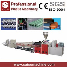 manufacturer plastic PVC pipe machine with price