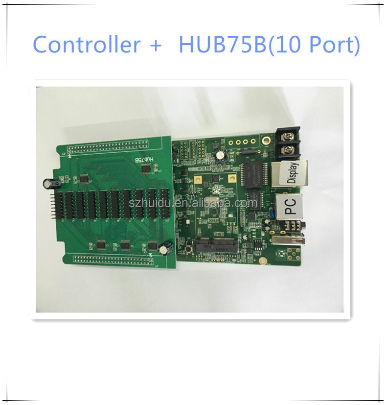 HD-<strong>C10</strong> new product P5 Indoor <strong>LED</strong> Display wifi wireless controller card