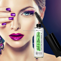 Private label fashion waterproof makeup mascara long curling unique 3d fiber lash mascara