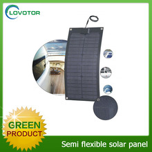 Best price cheap quote 20w 30W 50W 60W ETFE film monocrystalline silicon semi flexible solar panel