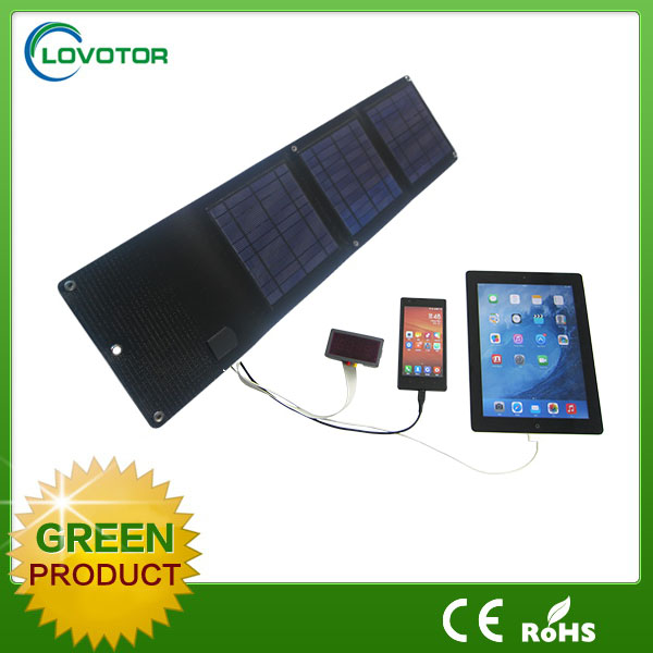 Folding solar panel power charger solar power bank Wholesale solar charger