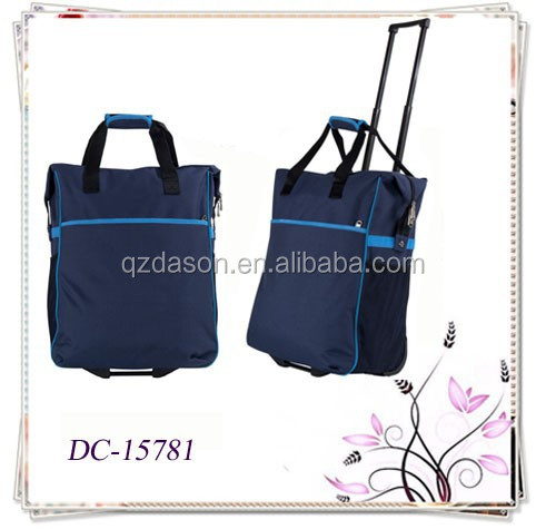 20-Inch Economic Rolling Shopping Bag Tote