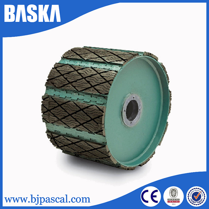 High quality conveyor return pulley lagging price