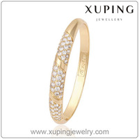 51324 Xuping Fashion Luxury Decent 18k Gold plated Color Women Bangle and bracelets