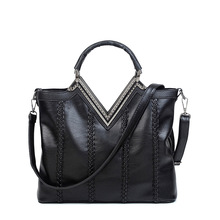 Genuine Sheep Nappa Leather Handbags Women's Bag