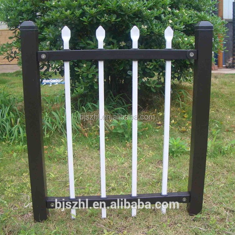 decorative wrought iron fence parts