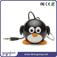 Lovely design cute animal mini high sound bluetooth audio speaker