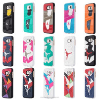 Fashion Mobile Phone Jordan Plastic Shoe Sole Case For Samsung Galaxy S6