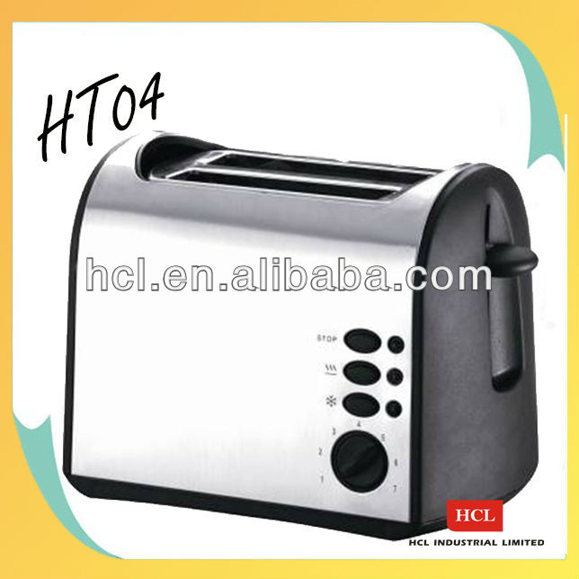 HT04 2 slice Full functions long slot toaster