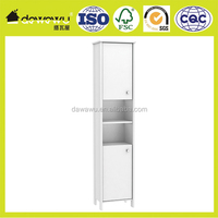 modern bathroom wall cabinet with 4mm tempered glass door