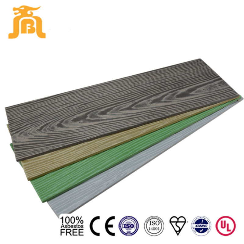 Hot Sale Prefabricated Wood House Waterproof Decorative Cement Lap Siding