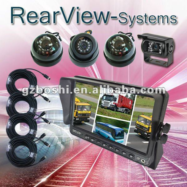 Super 9Inch Commercial Backup Cameras for Heavy Duty Vehicle