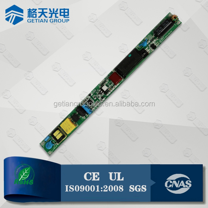 High Efficiency Internal Type Isolated 16W 20W waterproof electronic led driver For T8 T10 Light
