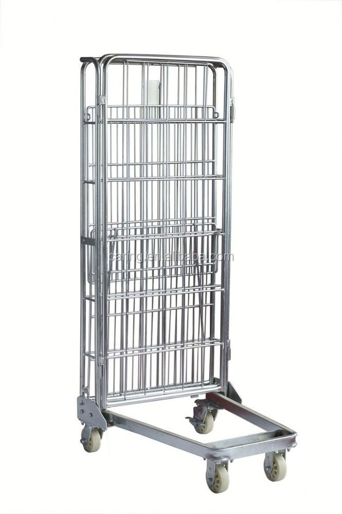 New arrival pallet wire cage and roll tainers