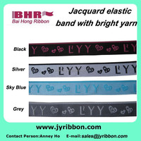 soft and lightweight 30mm nylon jacquard elastic webbing