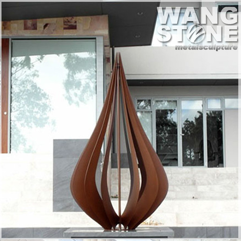 Corten Steel Rusty Garden Art Metal Sculpture