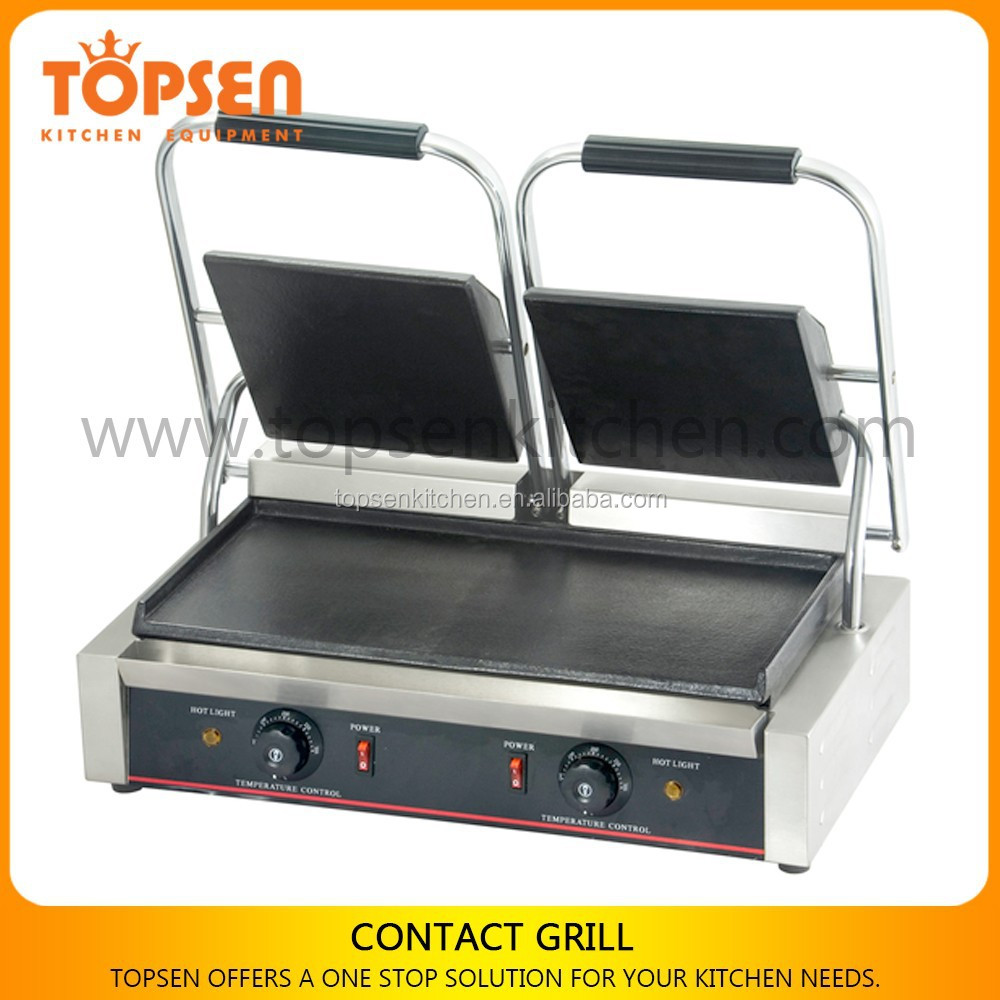 Electric Grill Desktop,Tabletop Contact Grill,Toaster Double Head Contact Grill