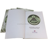 customized perfect bound color book printing