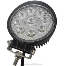 Hot Sale!! 12V Driving Worklight 27W 10W LED Work Light Super Bright Round LED Work Light