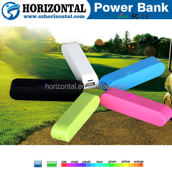 Mini golf best power bank, golf mini mobile power bank 2600mah, portable phone charger for iphone 6