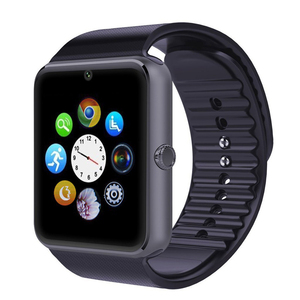 wholesale mobile watch blue-tooth smart watch GT08 with sim card and camera