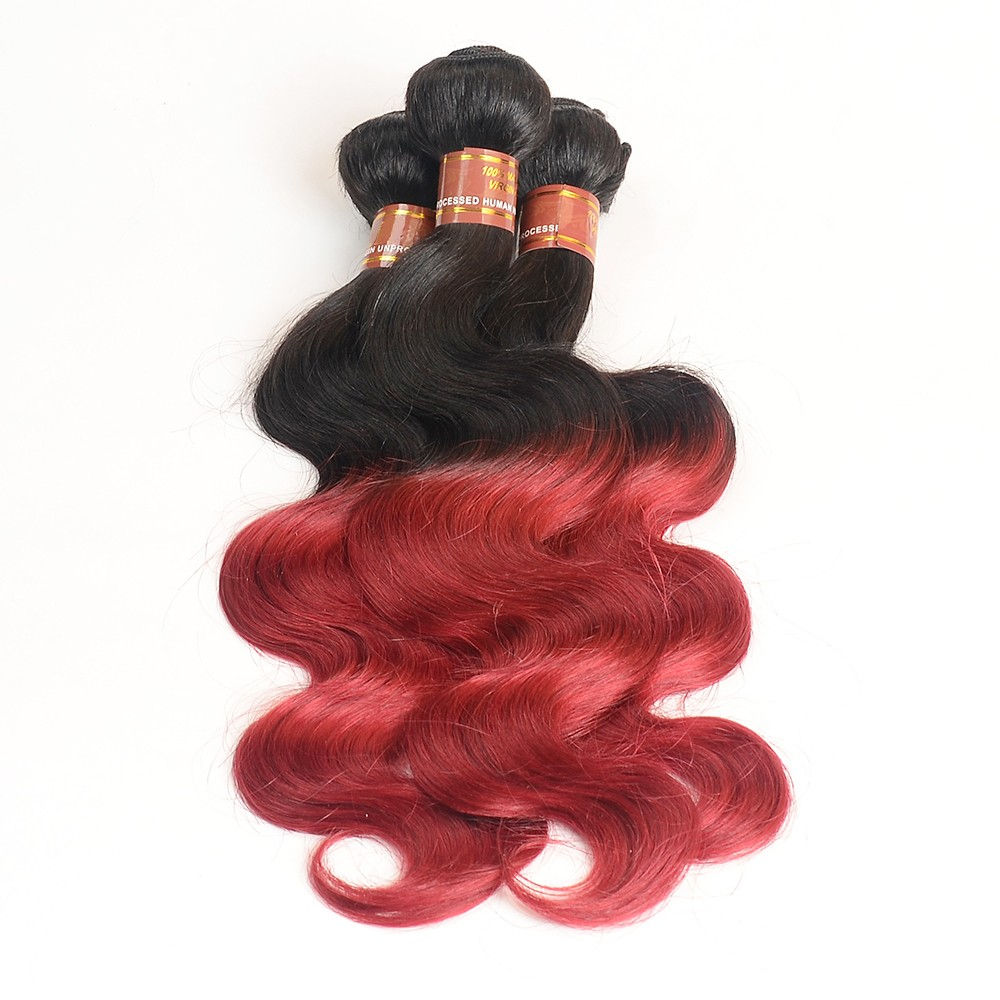 2017 Popular Excellent Cheap Wholesale high Quality Red Brazilian Hair Weave, Brazilian Hair Sew In Weave, virgin brazilian hair