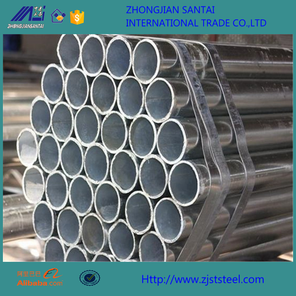 Mechanical properties ST52 8inch galvanized tube
