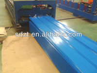 corrugated colored steel sheets/prepainted metal roof/building materials