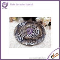 #18629 Wholesale Logo Decal Artwork Decorative Animal Warm plastic Hotel Plate