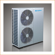 15kw EVI heat pump for floor heating and home cooling, single phase power supply