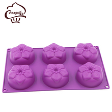 Factory supply cake mold silicone ice cream silicon mold best selling bakeware set