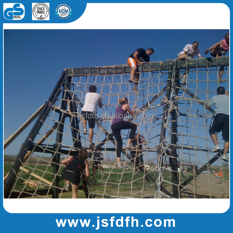 Children Climbing Cargo Net Black for Swing Set and Obstacal Race