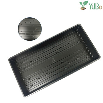 Garden Supply Wholesale PP Plastic Seed Growing Germination Flat Tray for Sprouting Vegetable