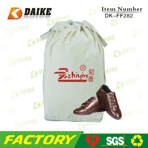 OEM Cotton Custom Made Shoe Bag for Top quality professional