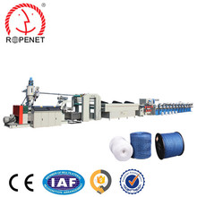 Greenhouse polypropylene fibrillated split film tape string extruder machine plastic pp raffia string extrusion plant