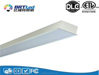 AC100V~240V/50~60Hz led linear lighting ip65 led lineae light ETL DLC listed