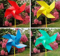 plastic garden windmills, plastic windmill toy for kids