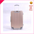 High grade aluminum frame luggage various color suitcase trolley luggage
