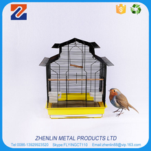 Fancy cheap small metal wire mesh pet bird cages
