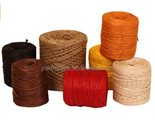 2017 promotional natural grass natural raffia cord
