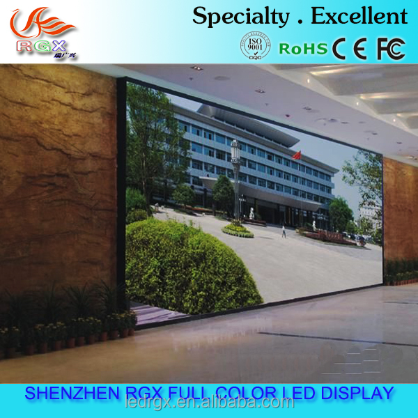 High Definition P4 P5 P6 P7.62 P10 Indoor Led Xxx Video Display for supermarket with attractive videos