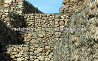 Stone cages,Gabions cages/gabions basket/cobble stone on mesh